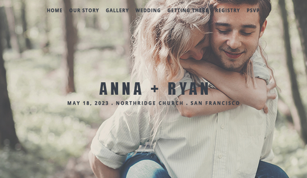 Wedding Invite Wix Template Wix Events Template