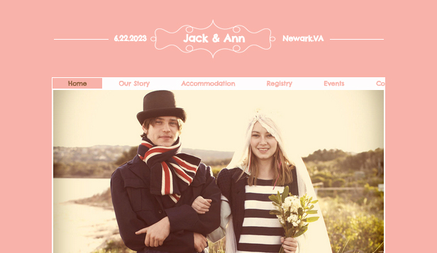 Wedding Website Wix Template Wix Events Template